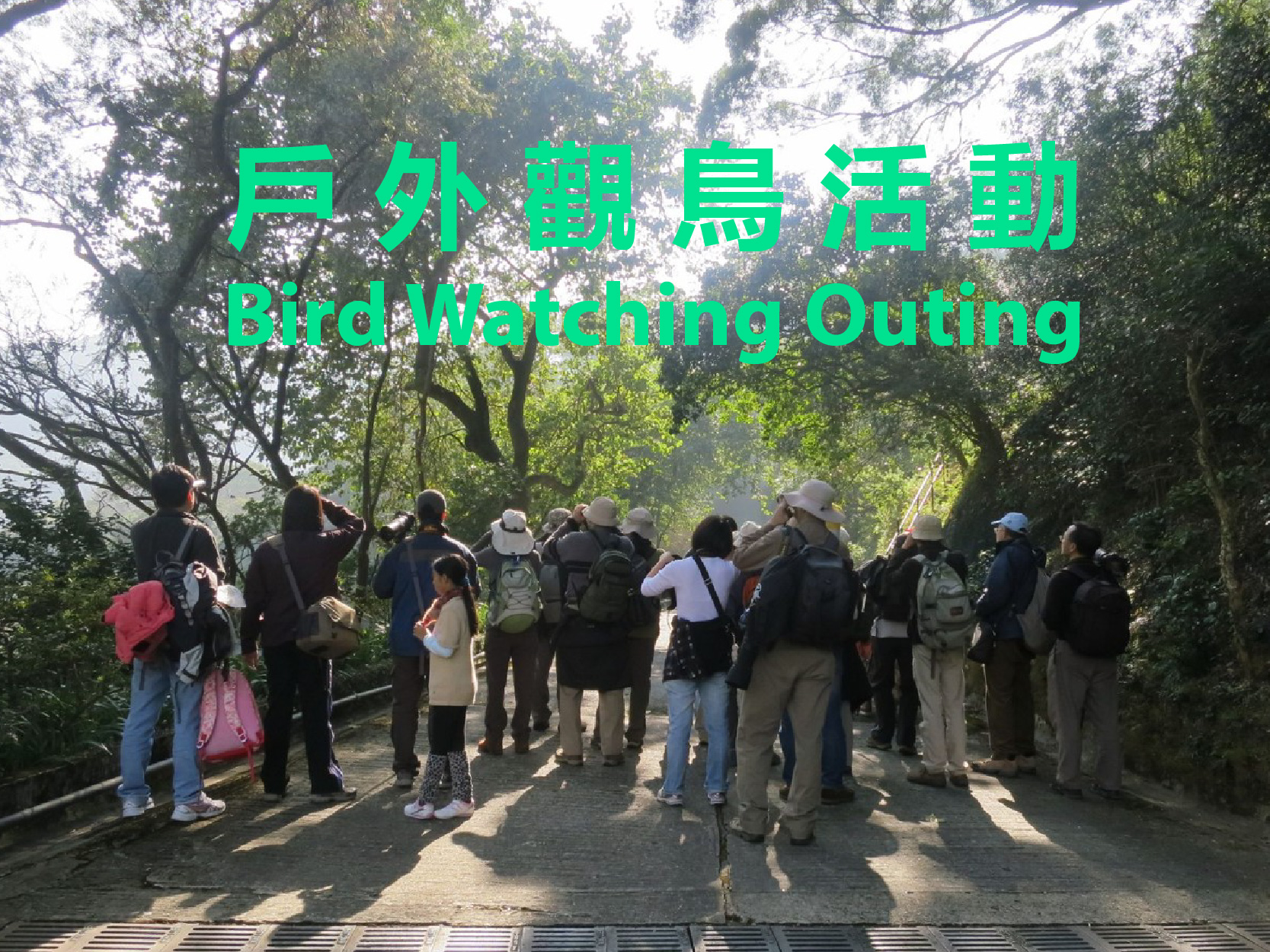 Bird Watching Outing Schedule - Sep to Dec 2019