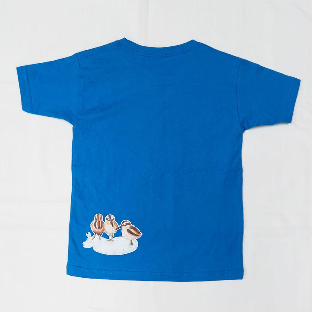 彩鷸親子 T-Shirt (淺藍色) Greater Painted-snipe Family T-shirt (Light Blue)