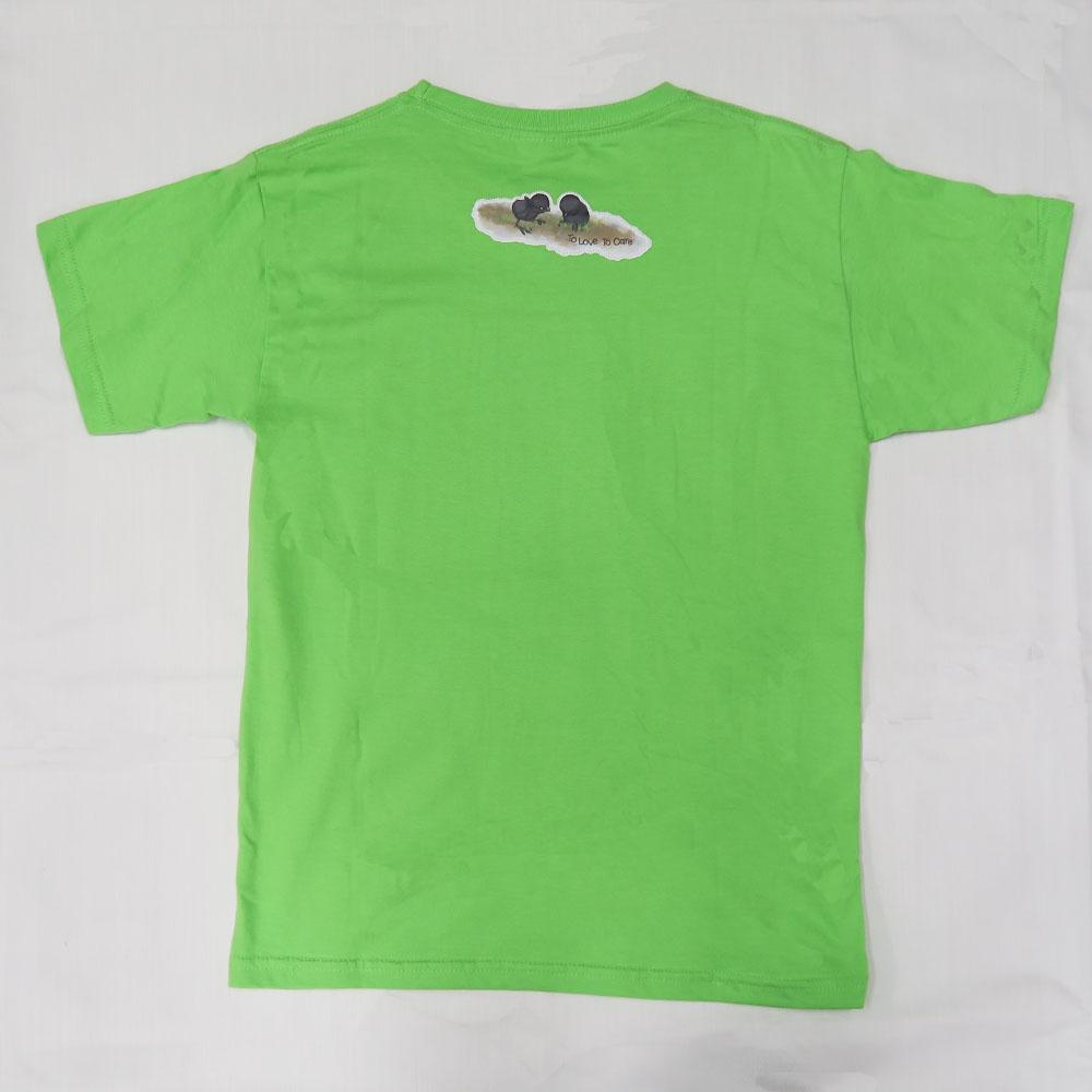 白胸苦惡鳥親子T-shirt White-breasted Waterhen Family T-shirt