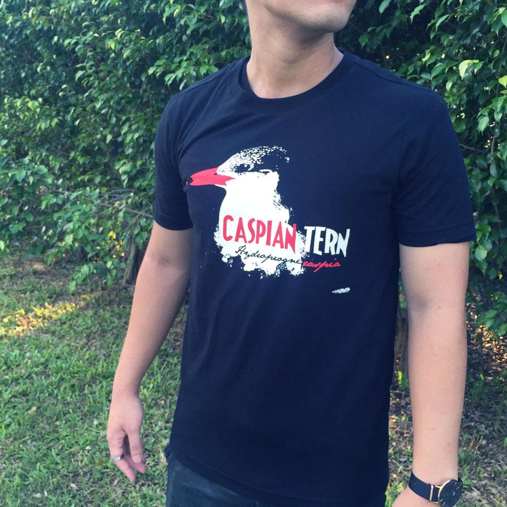 紅嘴巨鷗 T-shirt Caspian Tern T-shirt