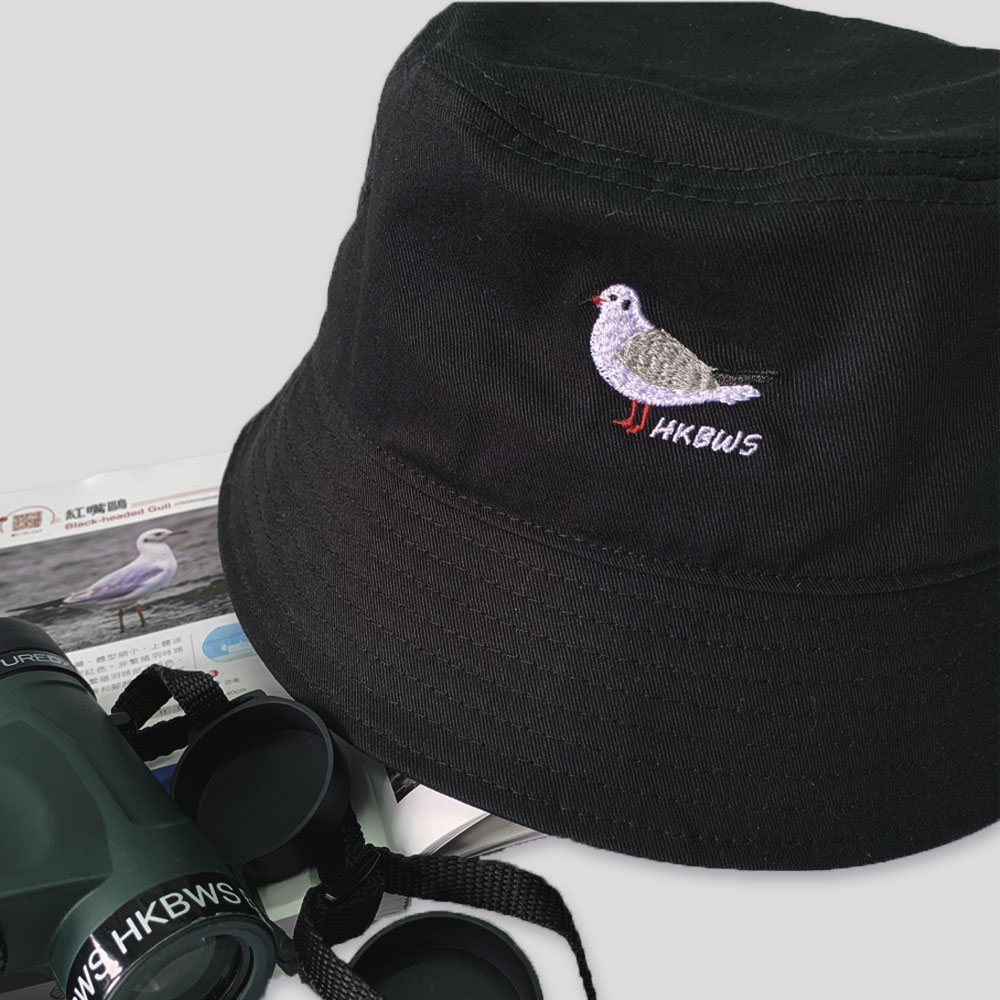 紅嘴鷗漁夫帽 Black-headed Gull Bucket Hat