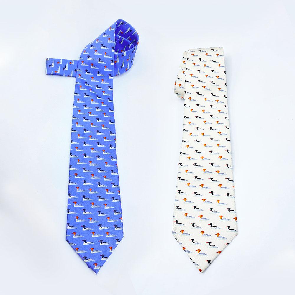 中華秋沙鴨領帶 Scaly-sided Merganser Necktie (公價 Fixed price)