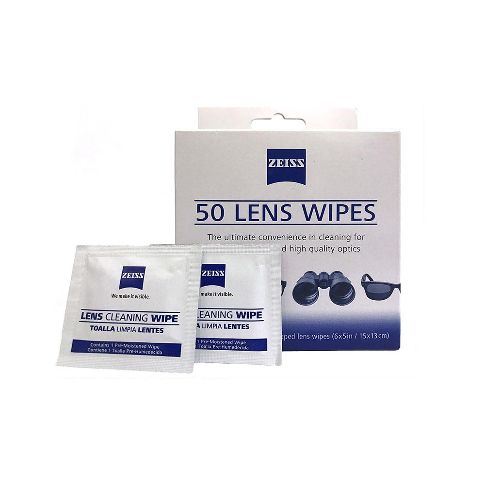 蔡司鏡片清潔拭鏡紙 (50片裝) ZEISS Lens Cleaning Wipes (50counts)