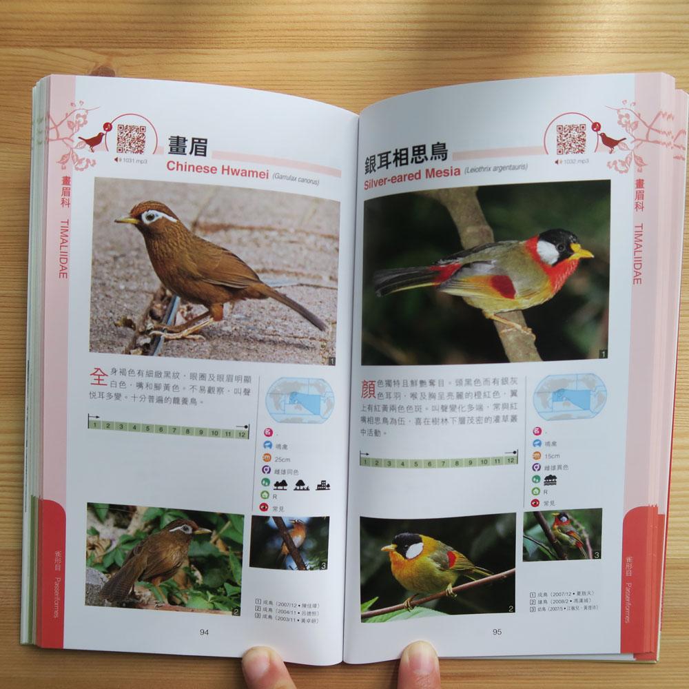 香港觀鳥小圖鑑 -  陸地鳥類篇