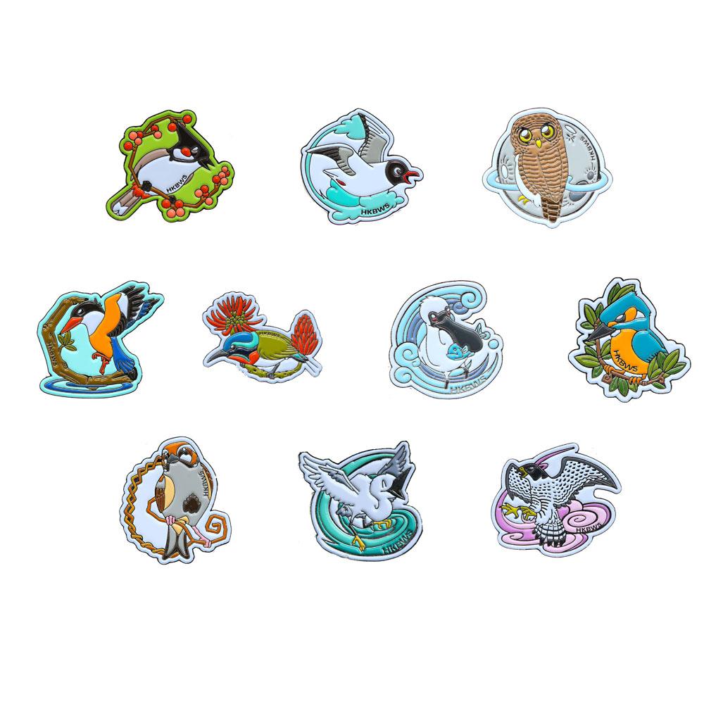 雀鳥襟章(單件) Bird pins(Single)
