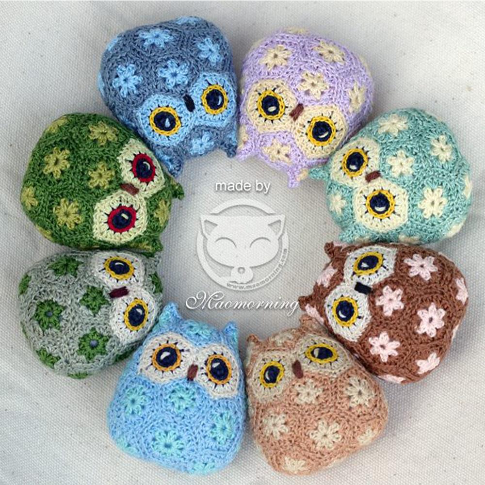 手製貓頭鷹公仔 Handmade Crochet Owl