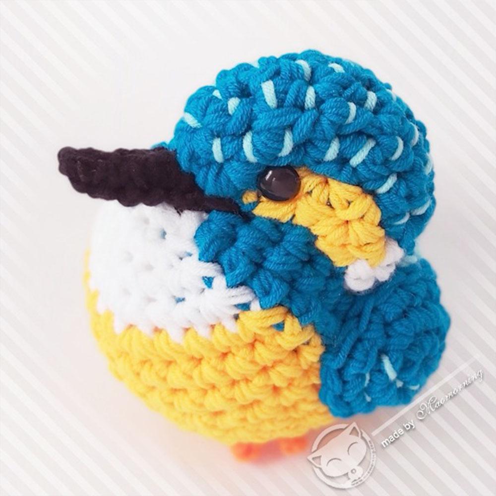 手製毛冷雀鳥公仔 Handmade Crochet Plush Birds (公價 Fixed price)