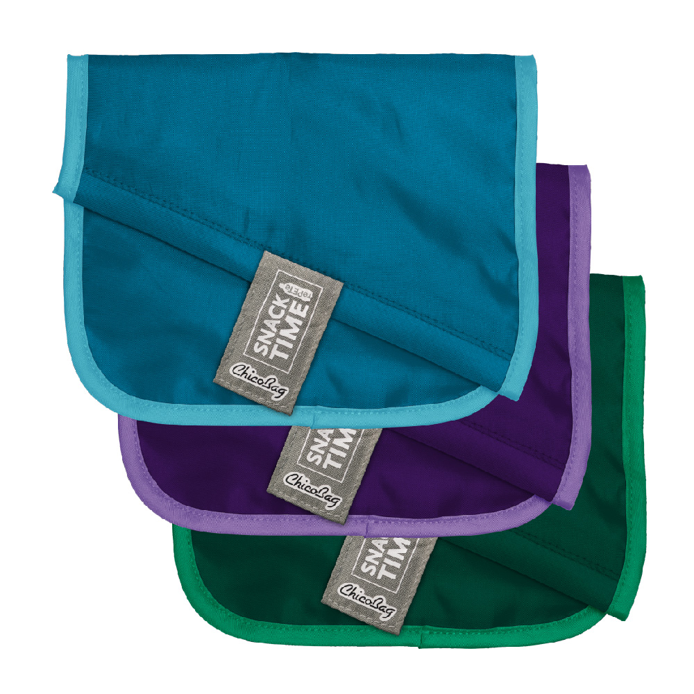 ChicoBag Snack Time rePETe™ 零食及三文治袋 Reusable Sandwich & Snack Bags (3個裝套 set of 3)