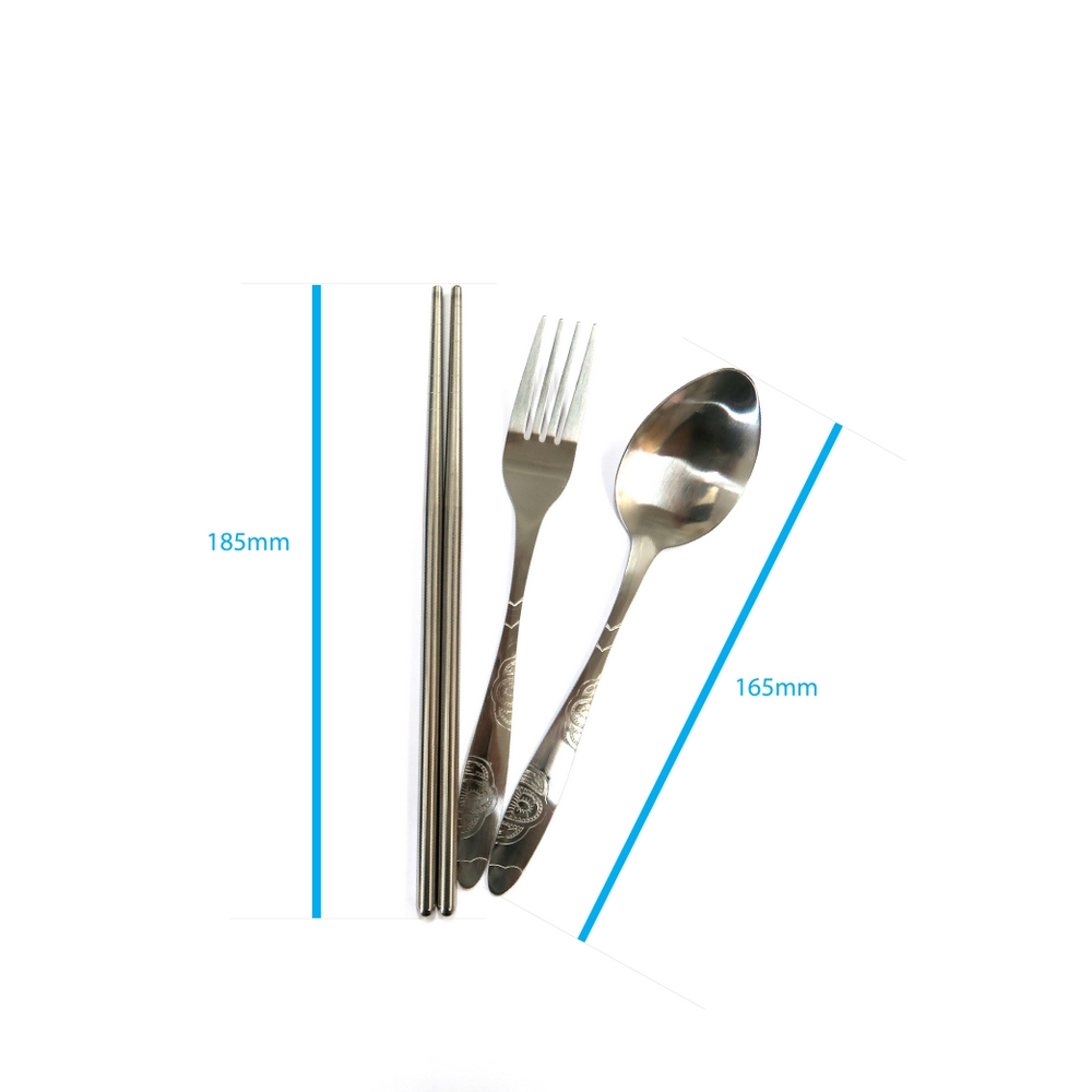 便擕不鏽鋼餐具套裝 Stainless Steel Portable Cutlery Set